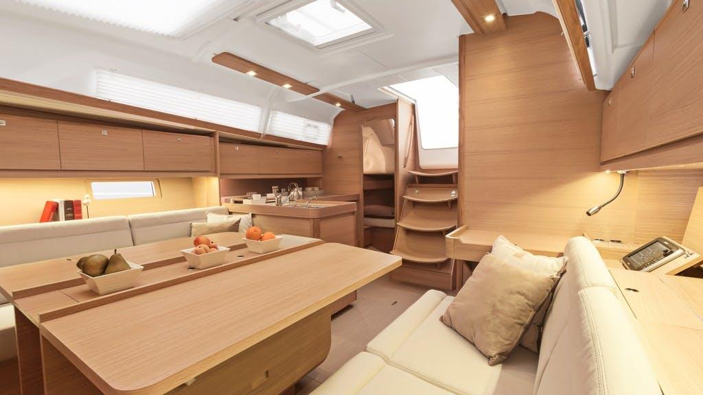 Dufour382 interior