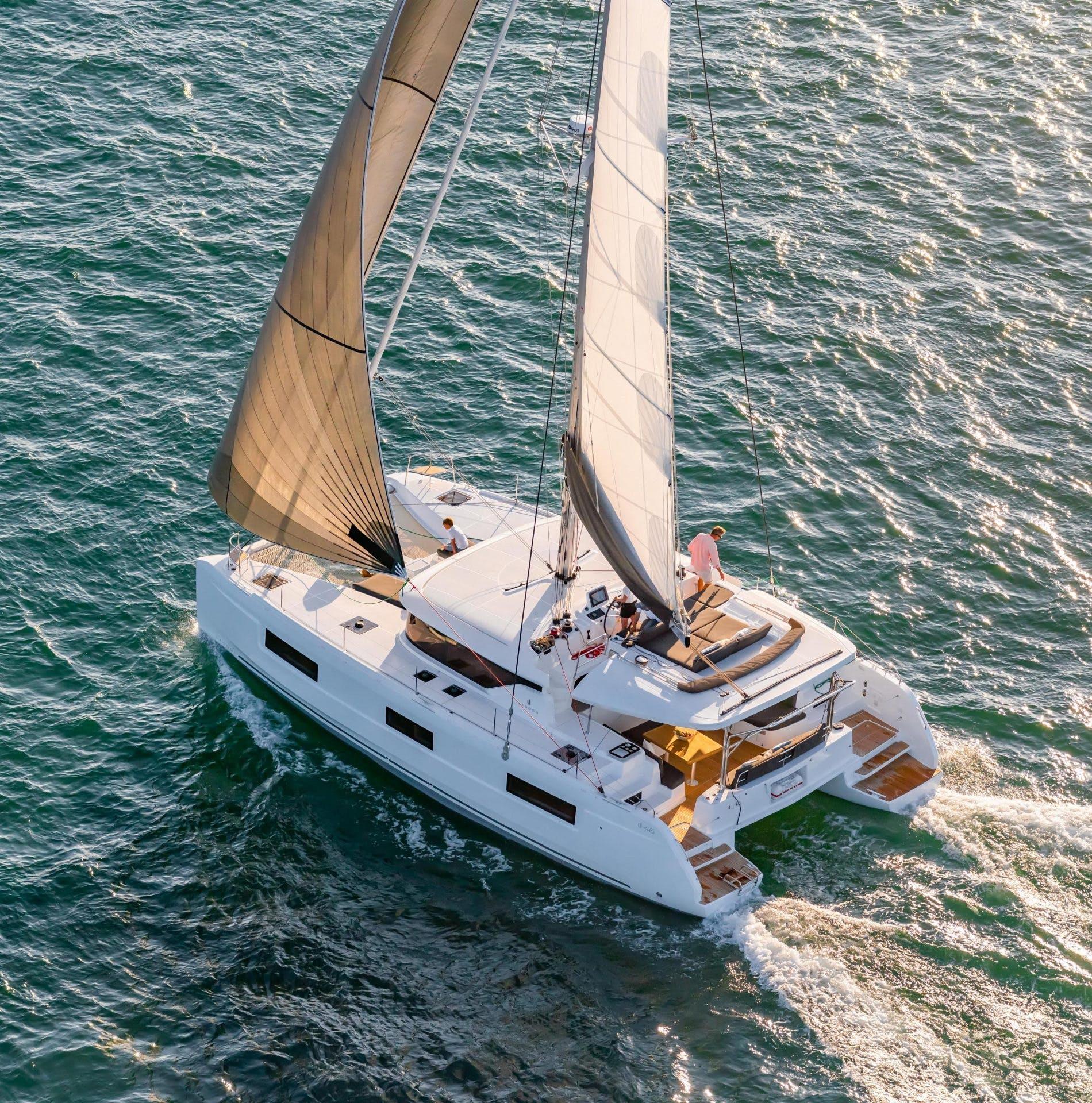 Sailing Catamaran Yacht